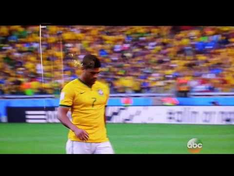 Brazil vs Chile Penalty Shootout 2014 World Cup