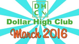 DOLLAR HIGH CLUB UNBOXING! (March 2015) by Strain Central