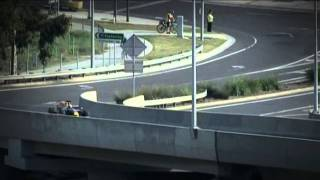 Mark Webber - Bolte Bridge 2011