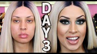 Nicki Minaj Pinkprint Makeup - Tyme The Infamous Week! - YouTube