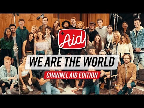 We Are The World (2018) - Channel Aid with Kurt Hugo Schneider & YouTube Artists