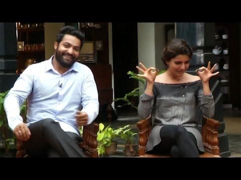 NTR And Samantha Super Funny Conversation | TFPC (видео)