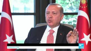 Subscribe to France 24 now: http://f24.my/youtubeEN FRANCE 24 live news stream: all the latest news 24/7 http://f24.my/YTliveEN Erdogan said the initiative by ...