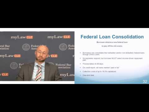 Consolidating Federal Student Loans