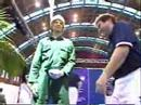 mannequin-man performming as a Living Mannequin: Video clip on youtube of Mannequin man being carried on to stage by two men then being pushed over by the acromaniacs at the Arco Experience at the G-MEX Centre in Manchester 1998 for Arco on 16/09/1998