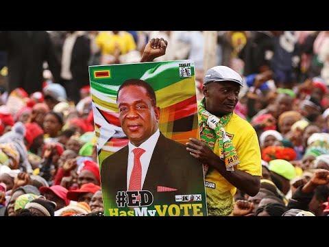 Simbabwe: Mnangagwa bleibt nach der Wahl an der Mac ...