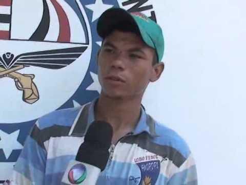 POLICIA PRENDE ACUSADO DE AGRESSÃO CONTRA A EX EM LIMA CAMPOS