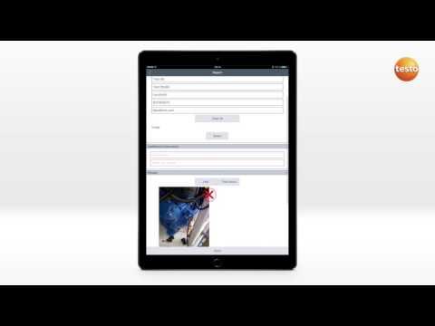 How To testo Smart Probes App. 03. Создание отчетов