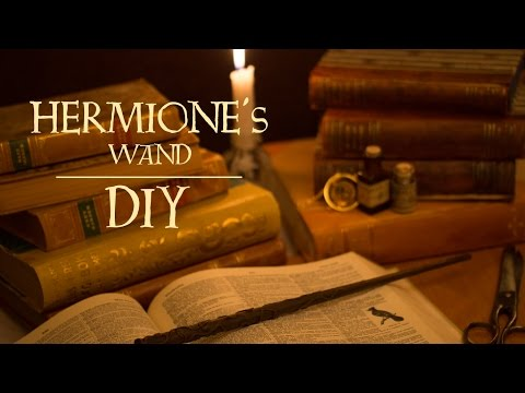 Hermione Granger's Wand | Harry Potter DIY
