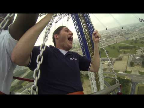 全球最高的盪鞦韆,高度122公尺!
