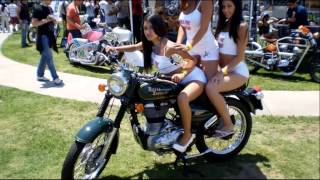 2. royal enfield bullet c5 military