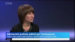 Německá policie pátrá po útočníkovi z Berlína