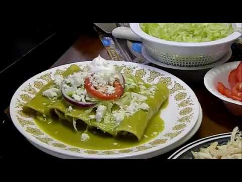 ENCHILADAS VERDES SUPER SALUDABLES!!!