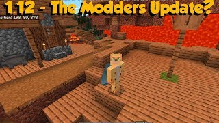 Minecraft Bedrock 1.12 Beta Out Now - The Modders Update?
