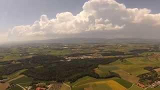 Bussigny Switzerland  City new picture : Vue aérienne région lac léman, TBS discovery