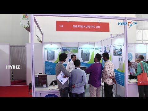 , Enertech UPS Pvt. Ltd - RenewX 2018 Hyderabad