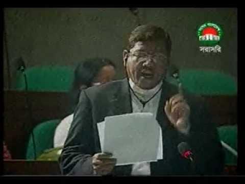 24.03.2012 Hamidur Rahman Azad MP. Parlament Specking