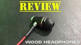 Symphonized NRG Premium Genuine Wood Headphones Review