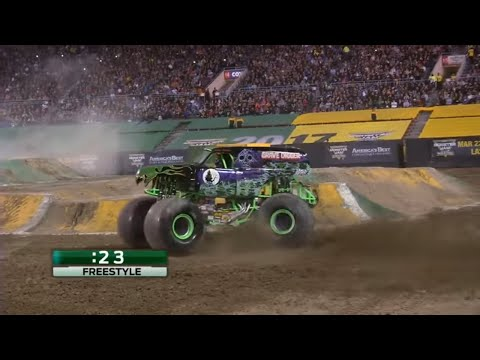 Monster Jam World Finals 18 XVIII (2017) Father's Day Rewind (видео)