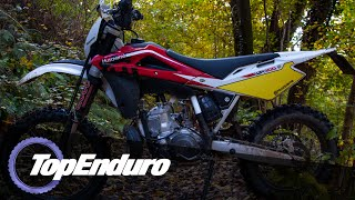 4. [GoPro Hero 4] Husqvarna WR 300 Hard Enduro - From Summer to Winter / Husqvarna vs KTM vs TM