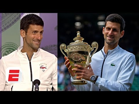 Novak Djokovic: When Crowd Chanted 'roger' I Heard 'novak' | 2019 Wimbledon