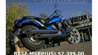 3. 2008 Kawasaki Vulcan 900 Custom -  Specification motorbike Specs Dealers Info Details