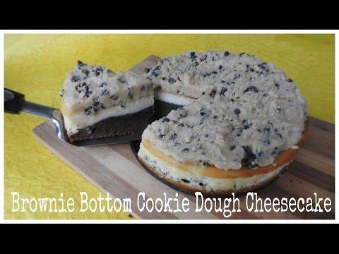 Brownie Crust Cheesecake with Cookie Dough | Baking Tutorials | Bakelicious