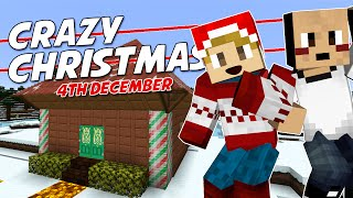 Minecraft - CRAZY CHRISTMAS [4] - SANTA'S GROTTO! (with Tomohawk)