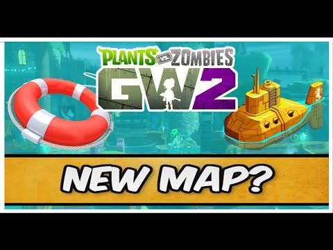 Plants vs Zombies Garden Warfare 2 - New Map, Battleground Dockyard + Submarines?