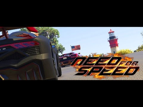 GTA V Need For Speed 2014 Movie - DeLeon Race PS4