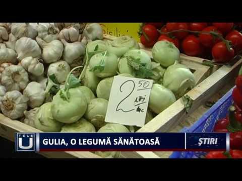 Gulia, o legumă sănătoasă