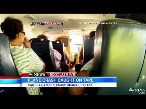 VIDEO: Así se vive un accidente aéreo desde la cabina de un avión