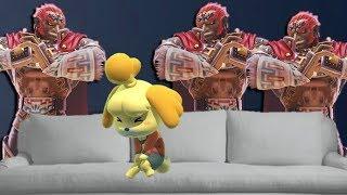 LEVEL 9 GANONDORF TEAM CHALLENGE! Super Smash Bros Ultimate by Verlisify