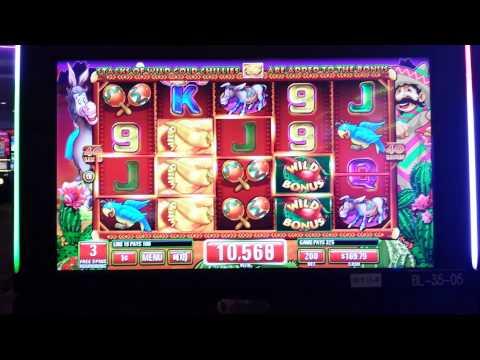 IT Games Chilli Gold Slot Machine Bonus (Coushatta Casino Resort)