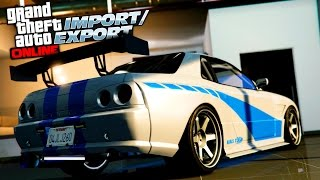Nonton GTA 5 Online Elegy Retro Customization! FAST AND FURIOUS SKYLINE GTR Film Subtitle Indonesia Streaming Movie Download