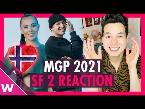 Melodi Grand Prix 2021 Semi-Final 2 (REACTION)   Norway