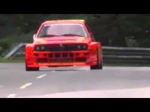 hf - KrisMotorSportVideos present Felix Pailer with the fantastic Lancia Delta HF Integrale 700PS at St.Urban 2010. 