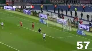 Klose und seine 71 Tore für die deutsche Nationalmannschaft