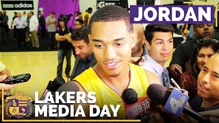 Lakers Media Day 2016: Jordan Clarkson by Lakers Nation