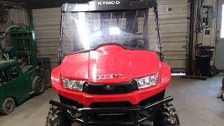 7. All Around Performance.com KYMCO UXV 700 Turf model walk thru.