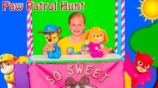 PAW PATROL Nickelodeon Assistant Hunt for Paw Patrol Skye and Chase Funny Kids Video