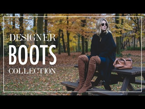 Designer Boots Collection & Outfit Ideas For Winter
