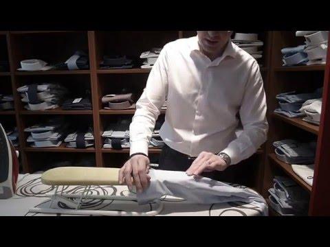 Repasser une chemise - Etape 2 :  les manchettes - Tutoriel Men's Code