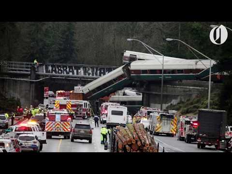 Portland-bound Amtrak train derails in Washington; at least 6 reported dead