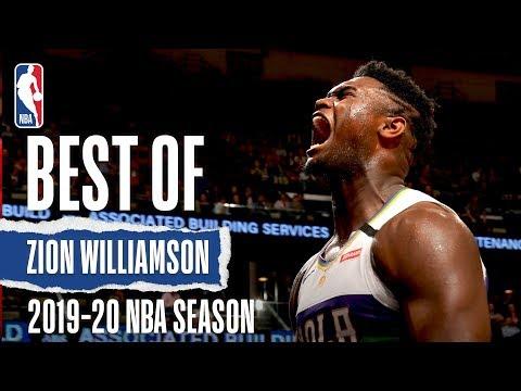 Best Of Zion Williamson | 2019-20 NBA Season