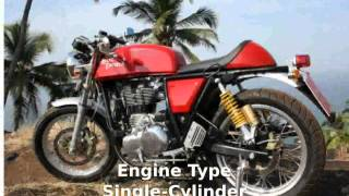 6. 2014 Royal Enfield Continental GT Cafe Racer - Info