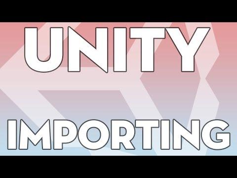 Unity Tutorials - Essentials 07 - Importing an Asset - Unity3DStudent.com