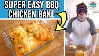 EASY CHICKEN BAKE RECIPE by  My Virgin Kitchen