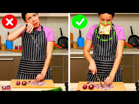 LIFE-SAVING COOKING TIPS || Everyday Life Hacks by 5-Minute RECIPES!