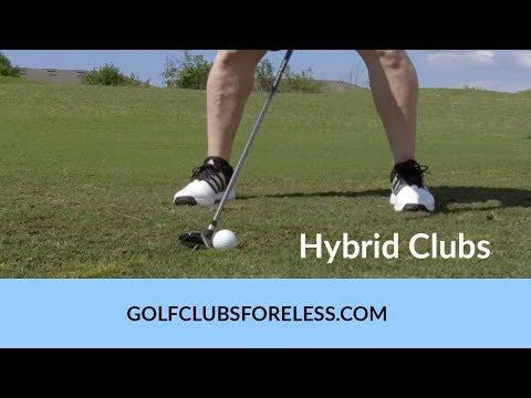 Hybrid Golf Clubs - High Lofted Hybrid Golf Clubs